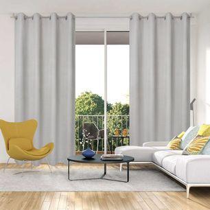 Osier Uncoated Eyelet Curtain 140x220cm