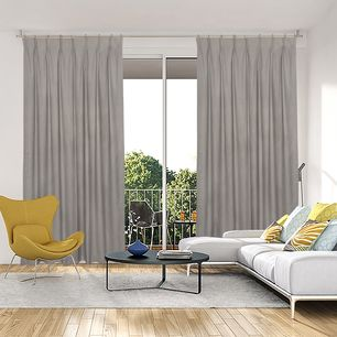 Piper Blockout Pinch Pleat Curtains