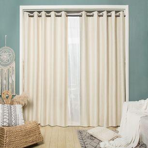 Rialto Blockout Eyelet Curtain 165x220cm
