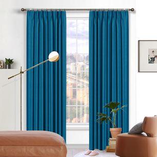 Sahara Blockout Pinch Pleat Curtains