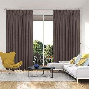 Selina Blockout Pinch Pleat Curtains