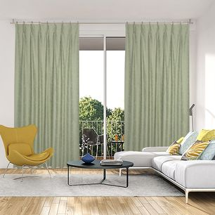 Seville Blockout Pinch Pleat Curtains