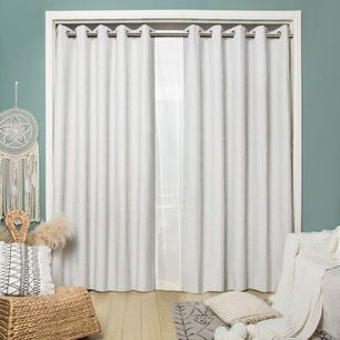Strathmore Blockout Eyelet Curtain 220cm & 250cm Drop