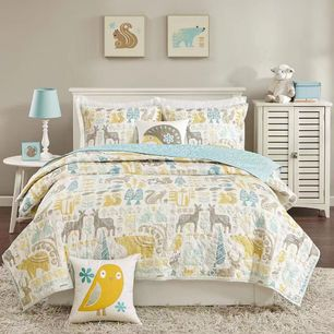 Wood Land Coverlet Set